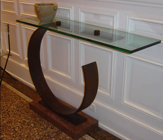 glass console tables chicky design